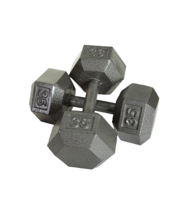 Hex Cast Dumbbells