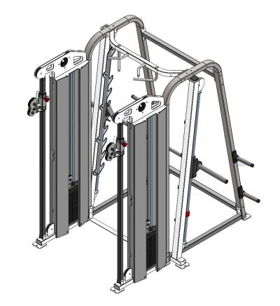 CF-9800 Outlaw Rack System