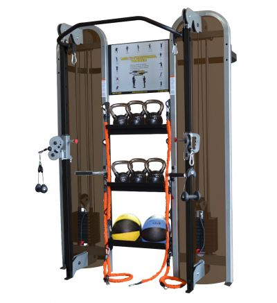 CM-334 Wall Mounted Functional Trainer