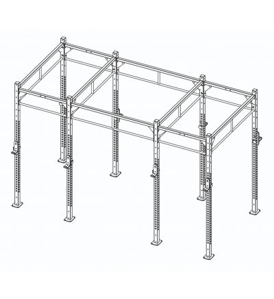 CTH Custom Rig - Double Sided Multi-Hole Uprights