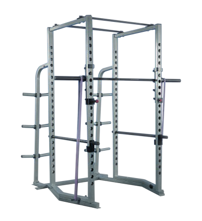 FW-163 Power Rack w/Weight Plate Storage