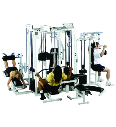 P-130 D 5 Stack Multi-Gym