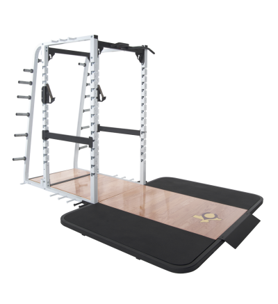 PL-370 Full Power Rack w/Oak Platform