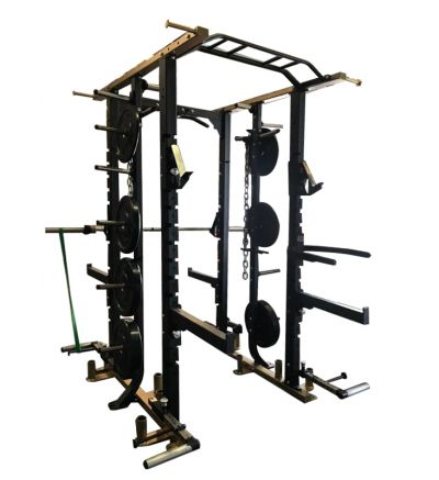 PL-547 Collegiate Double Sided Half Rack