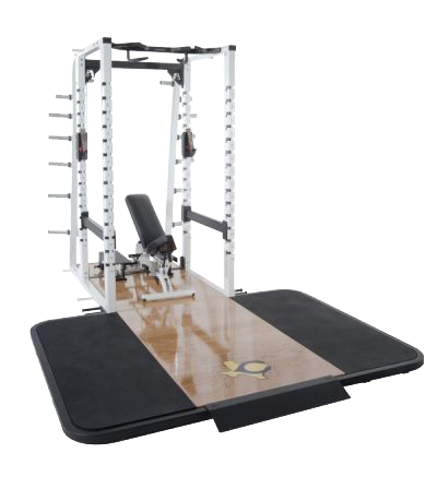 PL-560 Full Power Rack w/Oak Platform
