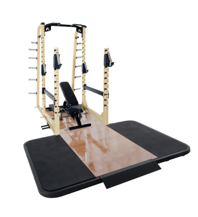 PL-595 Multi Rack w/Oak Platform