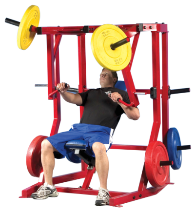 PL-61 Unilateral Decline Chest Press