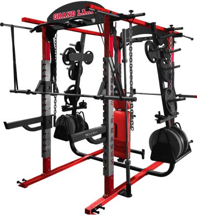 PL-820 Deluxe Double Sided Half Rack