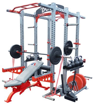 SP-600 Sport Series Double Sided Half Rack